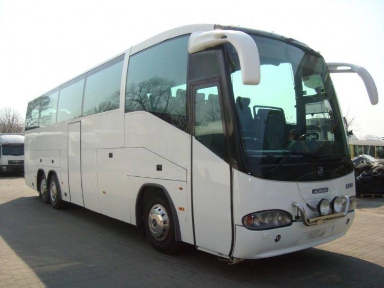 SCANIA IRIZAR K124 EB 6X2 NI 420, 51 seats.