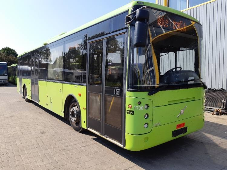 Volvo B7RLE Vest Center 3-doors; Clima; 12,82m; 38 seats; Euro 5