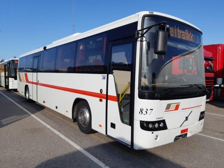 VOLVO B7R 8700 EURO 4; ONLY 387000 KM