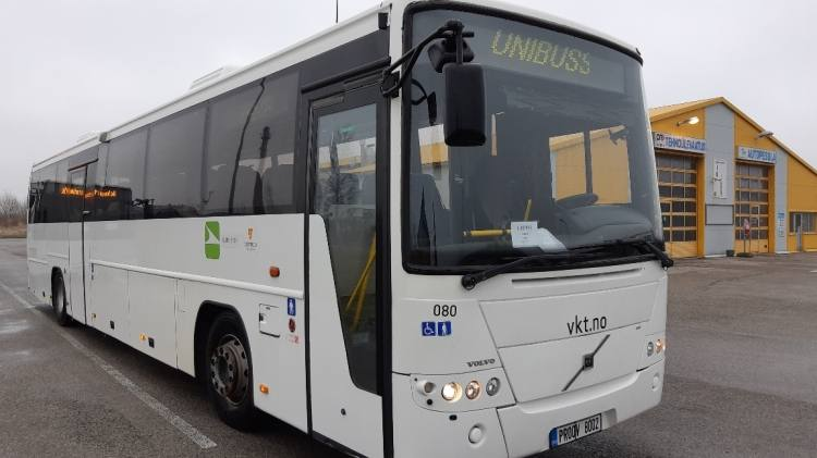 VOLVO B12B 8700, 12,9m, 48 seats, Handicap lift, EURO 5