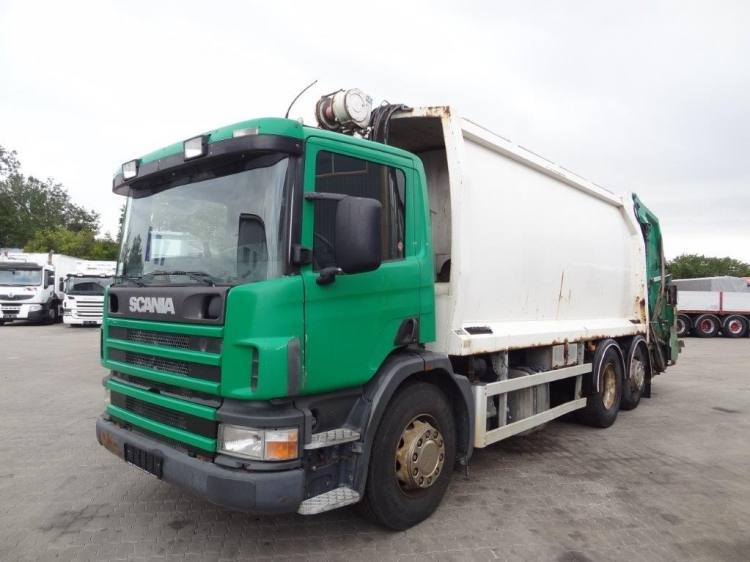 SCANIA P94DB 6x2 WITH NORBA RL300S