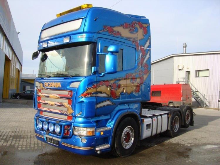 SCANIA R 620 6x2 TOPLINE OPTICRUISE, Euro 4, 631.000 km Original !