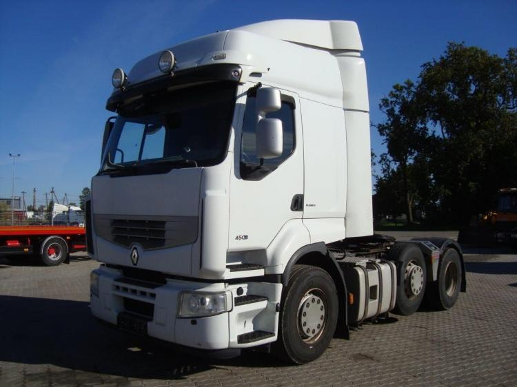 RENAULT PREMIUM 450.26T 6x2/4, Euro 4, 483.000 km only !!!