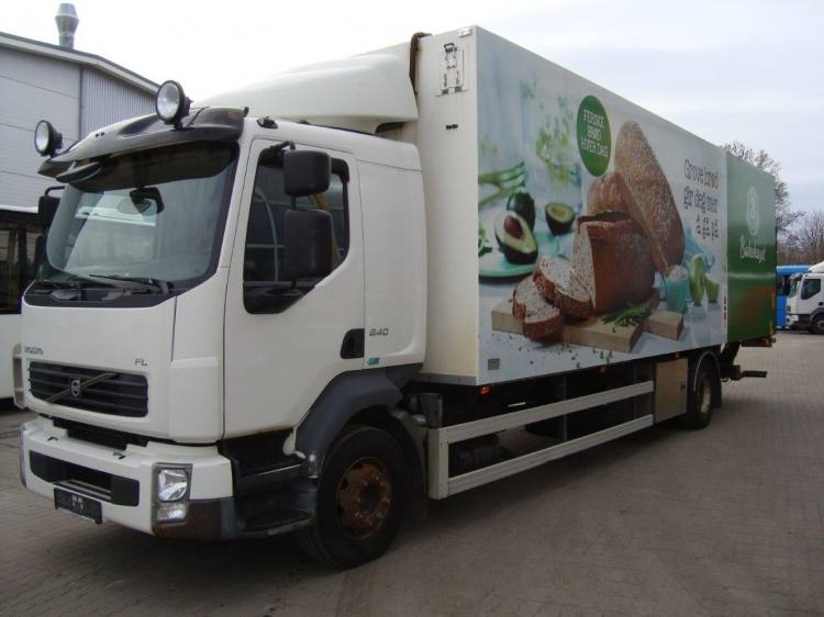 VOLVO FL240 BUSSBYGG HEATED ISOTHERM BOX Euro 4