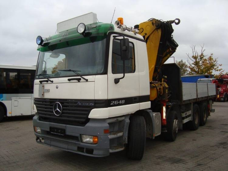 MERCEDES - BENZ ACTROS 2648 WITH CRANE FASSI F600XP.28